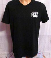 Ecko Unlimited Men Black Size Large T-Shirt Short Sleeve