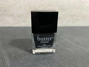 Butter London - Nail Lacquer Polish - CHIMNEY SWEEP - Black / Gray - 0.2oz #KJ