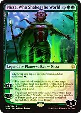 Nissa, Who Shakes the World FOIL War of the Spark NM Green Rare CARD ABUGames