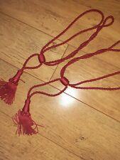 Rope Twist Tassel  Curtain Tie Back.