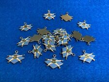 Lot of 22 1970's Vintage Parachute Skydiving Charms