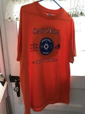 Say Zuzu On Tour-Broken White Records-Hanes Beefy-T-XL- Shirt