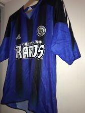 COLORADO RAPIDS Adidas 2005 MLS FC Soccer Futbol Jersey Harris Team Autograph