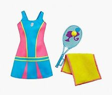Barbie Careers Fashion Dress Tennis Player Dnt95 Mattel Themed-outfit Doll