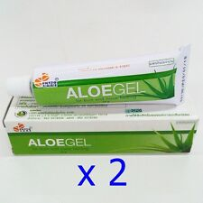 Aloe Vera Healing Gel Relief Painful Burns Sunburn Acne Abrasion Scars Rashes