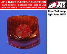 REAR TAIL LIGHT LENS BACK BRAKE LAMP LENS HONDA XL500S 78 79 80 81 AFTERMARKET