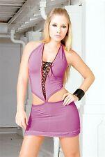 Espiral Lingerie Clubwear 499 Dark Orchid Small