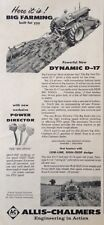 1957 AD(XB24)~ALLIS-CHALMERS NEW DYNAMIC D-17 TRACTOR WITH NEW POWER DIRECTOR