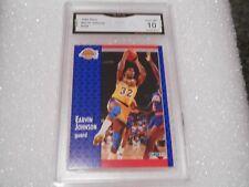 Magic Johnson GRADED CARD!! Gem Mint 10!! 1991 Fleer #100 Lakers HOFer! 10-1!