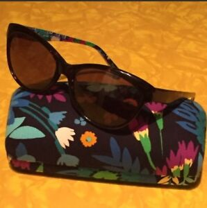 VERA BRADLEY Midnight BLUES $119 ROBIN STYLE SUNGLASSES & CASE