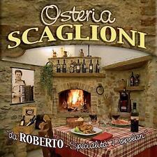 Osteria Scaglioni - Roberto Scaglioni CD FONOLA DISCHI
