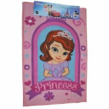 DISNEY SOFIA THE FIRST PRINCESS RECTANGULAR BEDROOM CARPET RUG DOOR MAT 50x80cm