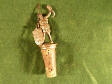 Vintage Advertising Cork Beer Bottle Stopper Noch Eins ! Viking Barbarian Figure