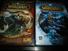 Warcraft wrath of the Lich king & Mists of Pandaria  Expansion Pack   pc game