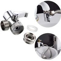Diverter Valve Faucet Adapter Kitchen Sink Splitter Water Tap Connector