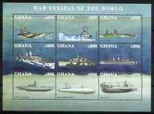 GHANA 1998 - BLOC FAMOUS SHIPS MNH