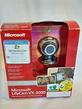 Microsoft LifeCam VX-3000 1.3MP USB Webcam With Built In Microphone NEW