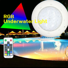 LED Underwater Pool Lights Spa RGB Colors Remote Control 36W 12V DC