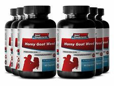Male Enhancement Pills - Horny Goat Weed 1560mg - With Maca Capsules (6 Bot)