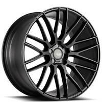 "(4) 19"" Savini Wheels BM13 Matte Black Rims (B30)"