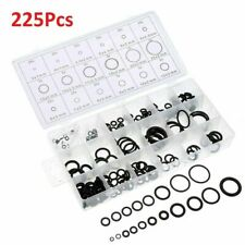 225Pcs Rubber O Ring Washer Assortment Set Hydraulic Plumbing Gasket Seal Kit