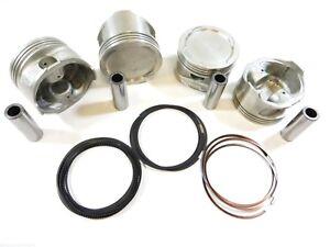 Premium Piston/Ring Kit(Std) for 93-97 1.8L Toyota Celica Corolla GEO Prizm 7AFE