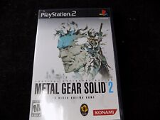 PlayStation 2 Metal Gear Solid The Essential Collection 2 & 3 100% Scratch Free