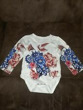 Size 6-9M Floral One Peice New