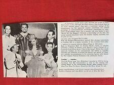 m78a ephemera 1972 film picture cole porter howard keel ann miller