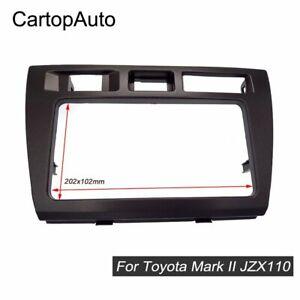 2 Din Car Radio Fascia for TOYOTA Mark II JZX110 Verossa Stereo Dash Kit Frame