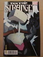 Doctor Strange #1 Marvel 2015 Henderson Kirby Monster 1:10 Variant 9.6 Near Mint