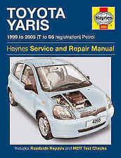 Toyota Yaris Car Manuals & Literatures