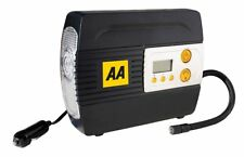 AA Official Car Essentials Digital Air Compressor 12V Tyre Inflator Adapters LED