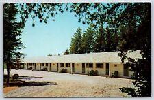 The Pine Cone Motel Penobsquis New Brunswick, Canada Sussex Chrome Postcard