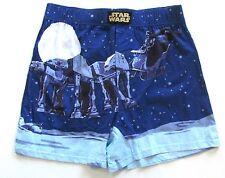 STAR WARS Darth Vader AT-AT Sleigh BOXER SMALL 28-30 Santa Sleigh Boxers NEW