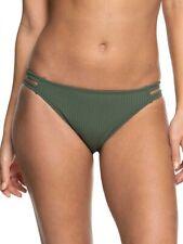 Roxy Full Bikini Bottoms Goldy Sandy Khaki Green S, M, L, XL BNIB Beach
