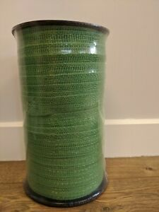 40mm 200 Metre Green Electric Fence Poly Tape - Fencing Horse Paddock - ECONOMY