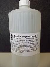 Elektrolyt 1.2 Inhalt 1 Liter für Beizgerät und/oder Edelstahlreiniger