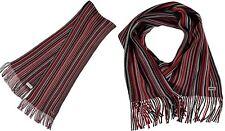 LONSDALE LONDON Foulard, écharpe rouge- multicolore homme  /  neuf, original