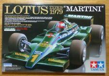 """TAMIYA 20061: LOTUS TYPE 79 1979 """"MARTINI"""". 1/20 Scale F1 Car Model Kit. New"""