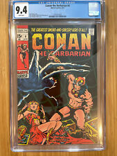 Conan the Barbarian #4 CGC 9.4 white pages