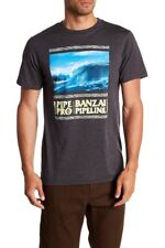 Volcom Men's L Short Sleeve Tee T-Shirt Surf Pipeline Hawaii Banzai Pipe Pro