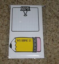 Teacher Resource: 24 Self-Adhesive Labels / Name Tags - 2 Designs