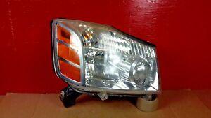 2004-2007 Nissan Titan Head Light Lamp OEM Front Right Passenger