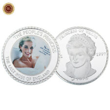 WR Lady Diana Photograph Print Silver Coin Princess Of Wales Commemorative Gifts
