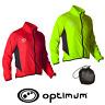 Mens Optimum Cycling Rain Jacket Waterproof Hi Visibility Lightweight Coat