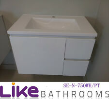 750mm Wall Hung Bathroom Vanity Polyurthane(SEN750WH/PT)