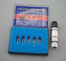 1x Messerhalter  + 5x45° Plottermesser  plotter Graphtec CB09 Cutter Plotter