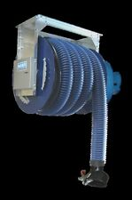 NORFI PKW Abgas Federschlauchaufroller SET 7,5 m + Ventilator - Abgasabsaugung