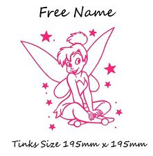 Tinkerbell Car, Scooter Graphic Decal Vinyl Sticker + Free Name 13 colors Avail